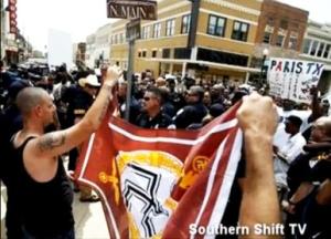 KKK-vs.-New-Black-Panthers-in-Paris-TX-072109-by-Bro.-Jesse