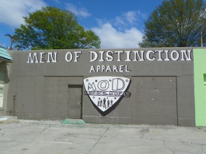 #001 Men of Distinction Apparel