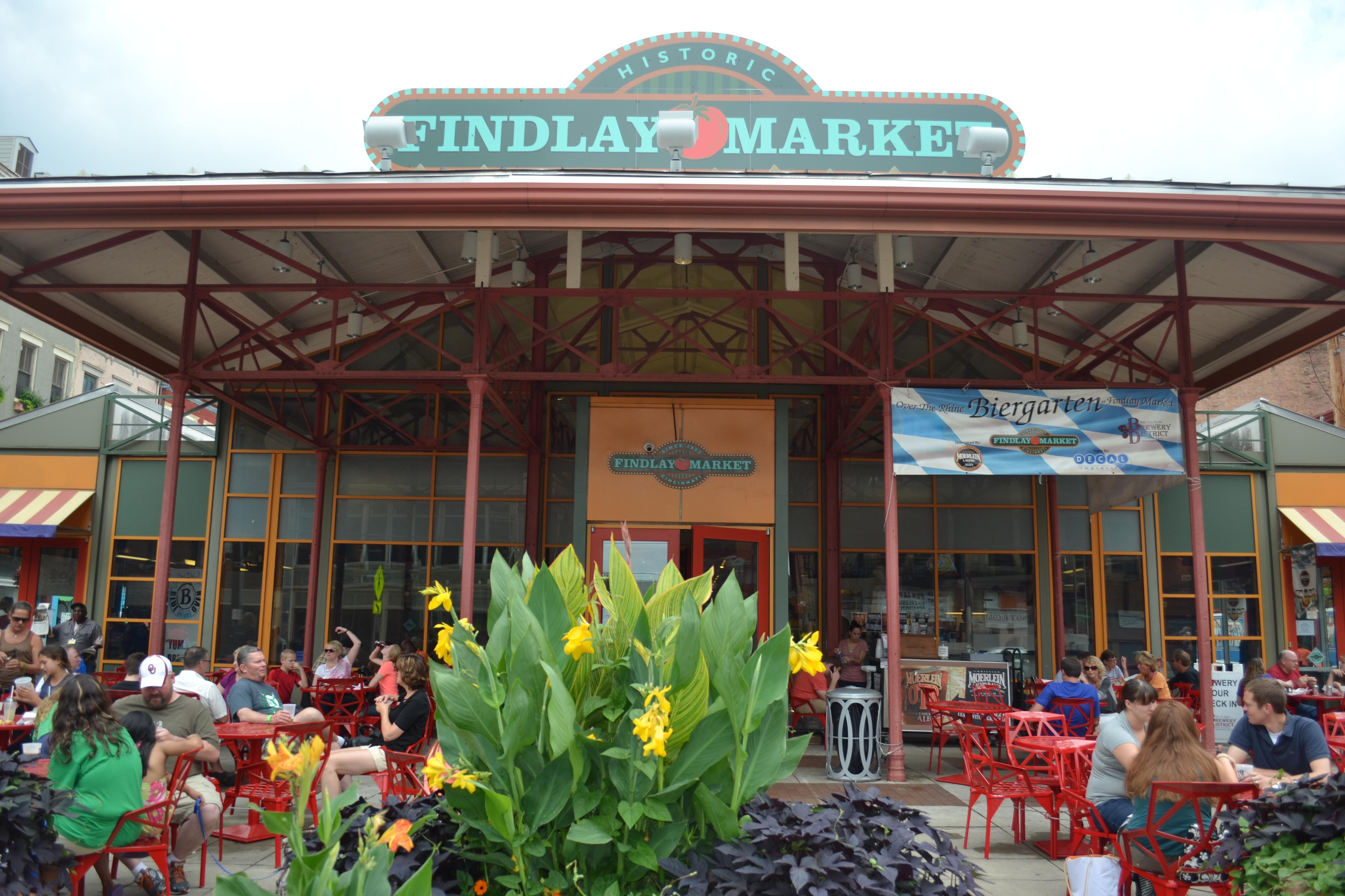 At the findlay market in cincinnati the frontline for Fish market cincinnati